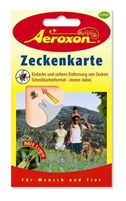 Aeroxon Insektenschutzmittel Zeckenkarte - 1