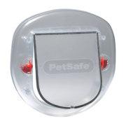 PetSafe Katzenklappe 4-Wege Silber