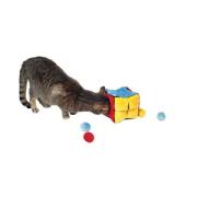 Plüschwürfel mit 4 Catnip-Bällen