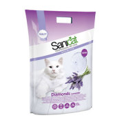 Sanicat Diamonds Lavendel Silikat 15L